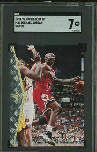 RARE! 1994-95 SP Silver Michael Jordan Chicago Bulls HOF SGC 7 NM 1:192 PACKS