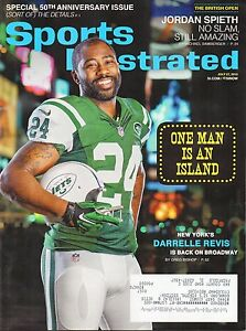 DARRELLE REVIS Sports Illustrated NEW YORK JETS One Man Island July 27 2015