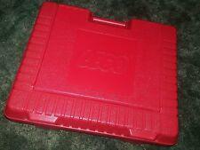 Classic Vintage Lego Red Empty Plastic Storage Case Large Box 12 x 15 x 4 1985