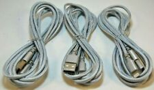 Lightning Connector Charging & Sync Cable for Apple *3-Pack* 5 ft -- Silver
