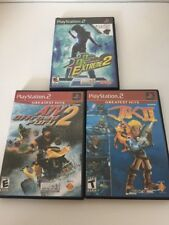 Playstation 2 PS2 Lot Of 3 Games Jak 2 ATV 2 Dance Extreme 2