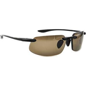 Maui Jim Rx Sunglasses Frame Only MJ-909-02 Kanaha Black Rimless Japan 61 mm