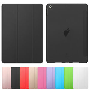 For iPad 8th 7 6 5 Air Mini 54321 Slim Magnetic Smart Cover Case Auto Sleep/Wake