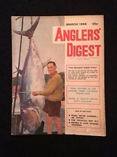 VINTAGE FISHING MAGAZINE 1966 TOTAL OF 58 PAGES