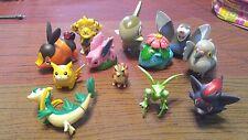 jakks tomy McDonald's burger king toys Pokemon lot of 12