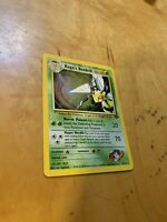 KOGA'S BEEDRILL 9/132 GYM CHALLENGE SET POKEMON  ENGLISH CARD HOLO RARE A22