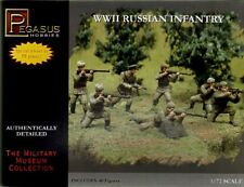 PEGASUS HOBBIES 1/72 2nd guerre mondiale Infanterie russe #7498