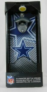 Team Sports America Dallas Cowboys Light-Up Magnetic Bottle Opener NFL