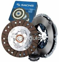 SACHS 3 PART CLUTCH KIT FOR VW GOLF HATCHBACK 1.6 TDI