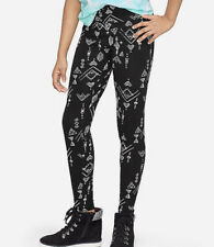 Justice Girls Size 10 Black Pattern Full Length Leggings New with Tags