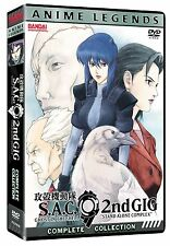 Ghost in the Shell: Anime Legends 2nd Gig Complete Anime Box / DVD Set NEW!