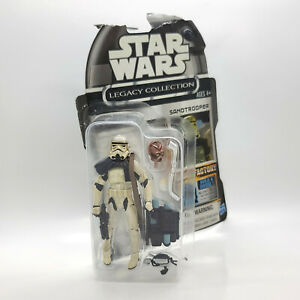 Sandtrooper Legacy Coll Droid Factory STAR WARS Cancelled Line w/ TC-70 part
