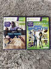 Kinect Sports: Season Two 2 (Xbox 360, 2011) And Nike Plus Kinect Training