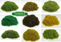 OO N Gauge Scenery KJB Models 4mm Static Grass 12 Variations Available