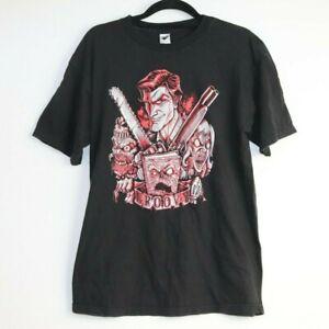 TeeFury Men's Graphic Groovy Black T-Shirt Size M
