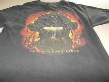 DISTURBED - TEN THOUSAND FISTS - T-SHIRT - MEDIUM -SEE DESC FOR SIZING