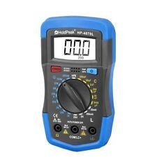 Holdpeak Digital Multimeter Hfe Test Resistance Capacitance Inductance Lcr Meter