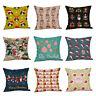 Christmas Pillow Cases Linen Sofa Cushion Cover Home Decor Pillow Case Cusion