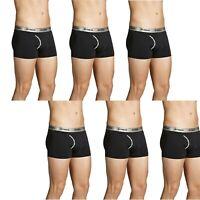 6 x BONDS MICROFIBRE TRUNKS Black Trunk Underwear Shorts Boxers S M L XL 2XL