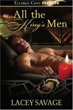 ALL THE KING'S MEN by Lacey Savage EROTIC FUTURISTIC SCI-FI ~ ELLORA'S CAVE  OOP