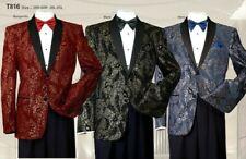 Men's Formal Tuxedo Blazer/Jacket Metallic Sequin Shawl Collar Jacket for Party