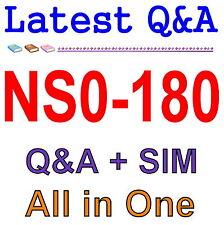 NetApp Certified Storage Installation Engineer NS0-180 Exam Q&A PDF+SIM