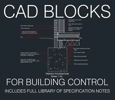 Detalles de CAD típico para la construcción de control, las normas de construcción, aplicaciones de planificación