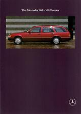 Mercedes-Benz 200 - 300 T-Series Estate Brochure + Inserts - 1990 - Near Mint