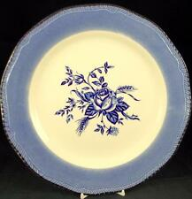 Wood & Sons COLONIAL ROSE BLUE Dinner Plate LIGHT USE