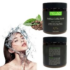 Coffee Body Scrub Natural Coconut Oil Exfoliating Whitening Moisturizing 250g