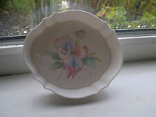 Aynsley Little Sweetheart Trinket Dish Oval Bone China 1st Quality Pink British