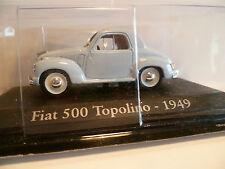 FIAT 500 TOPOLINO BLEU de 1949 ~  NEUF