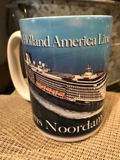 Holland America Line MS NOORDAM Cruise Ship Souvenir Mug Cup Panoramic Pictoral