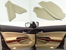 2008-2012 Honda Accord Tan Leather LH & RH Armrest Covers New Free Shipping