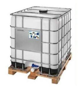 Cisterna IBC Rigenerata In Plastica, 1000 Litri, Colore Neutro, Omologata ADR