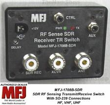 MFJ-1708B-SDR SDR RF Sensing Transmit/Receive Switch For SDR, 200W HF, VHF, UHF