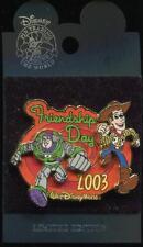 WDW Friendship Day 2003 Woody & Buzz Lightyear LE Disney Pin 77327