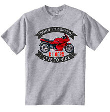 BMW K1100RS - NEW COTTON GREY TSHIRT - ALL SIZES IN STOCK