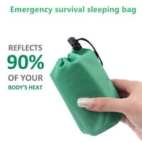 Waterproof Lightweight Thermal Emergency Sleeping Bag Survival Blanket B xnLYAN