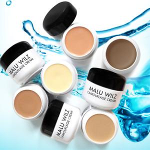 Malu Wilz Camouflage Cream 6g Waterproof Concealer Trouble Foundation+ Free Gift
