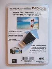 NXG HDMI Mini (C) to HDMI (A) Adapter - Model Number NX-HDMI-A-C