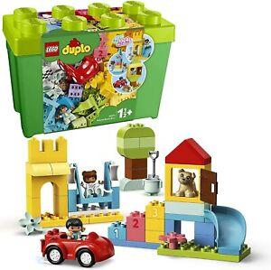 LEGO DUPLO Deluxe Green Brick Storage Box Gift Starter Set 10914 85 Piece 1.5+