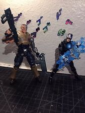 Marvel Legends Lot - Cable and Havok Loose and Complete X-Men Juggernaut Wave