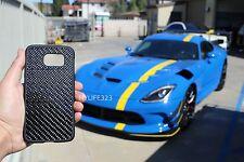 Real 100% Carbon Fiber Samsung Galaxy S6 Edge Phone Case Black New Free Shipping