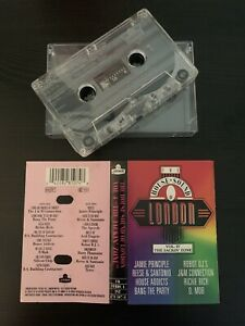 THE HOUSE SOUND OF LONDON - VOL. 4: THE JACKIN ZONE (RARE 1988 UK CASSETTE TAPE)