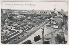 Bruxelles Exhibition 1910 postcard - Section Francaise