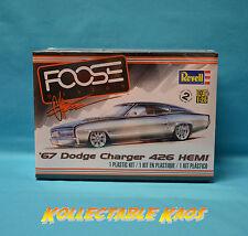 1:25 Revell - Foose 1967 Dodge Charger 426 HEMI Plastic Model Kit(85-4051)
