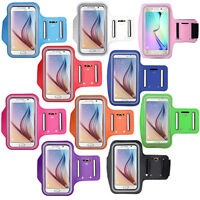 For Samsung S6 S7 S5 Note 4 5 Sports Gym Jogging Running Armband Arm Holder Case