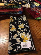 Vera Bradley One rare Retired Yellow Bird Dinner Fabric Napkin New NWT FREE SHIP