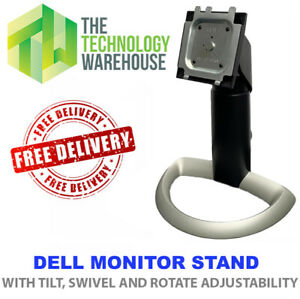 Dell Monitor Stand for Dell Monitors - Swivel Rotate Tilt Adjustability - 2001FP